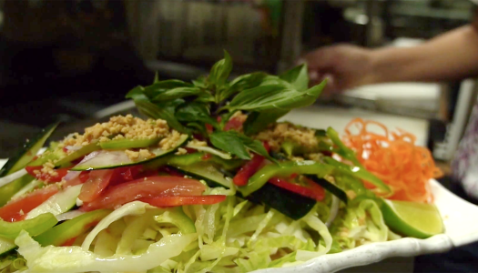 Cambodian Nhoam Salad
