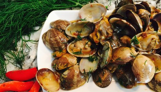Recipe: Spicy Clams with Black Bean Sauce and Dill