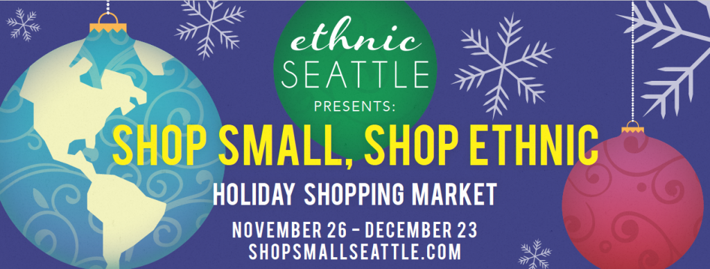 Shop Small Shop Ethnic Holiday Shopping banner