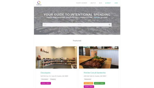 Intentionalist: a local startup wants to help you spend money for good